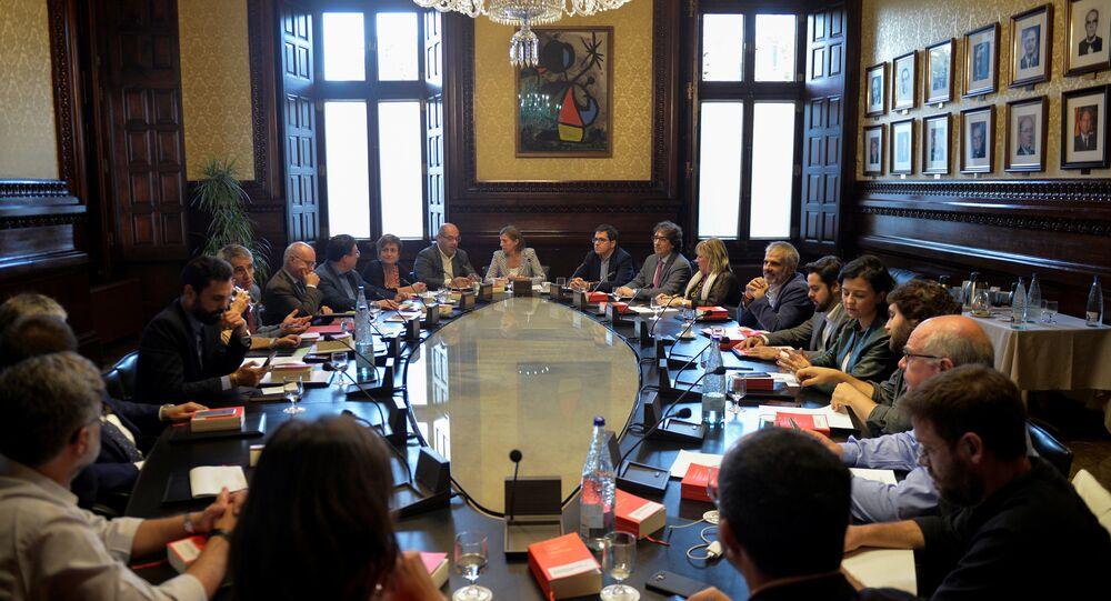 Katalonya bölge parlamentosu