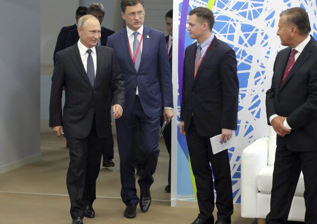 Rusya Devlet Başkanı Vladimir Putin, Rus Enerji Haftası