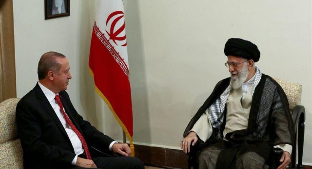 Erdoğan İran'da Hamaney ile görüştü - Sputnik Türkiye