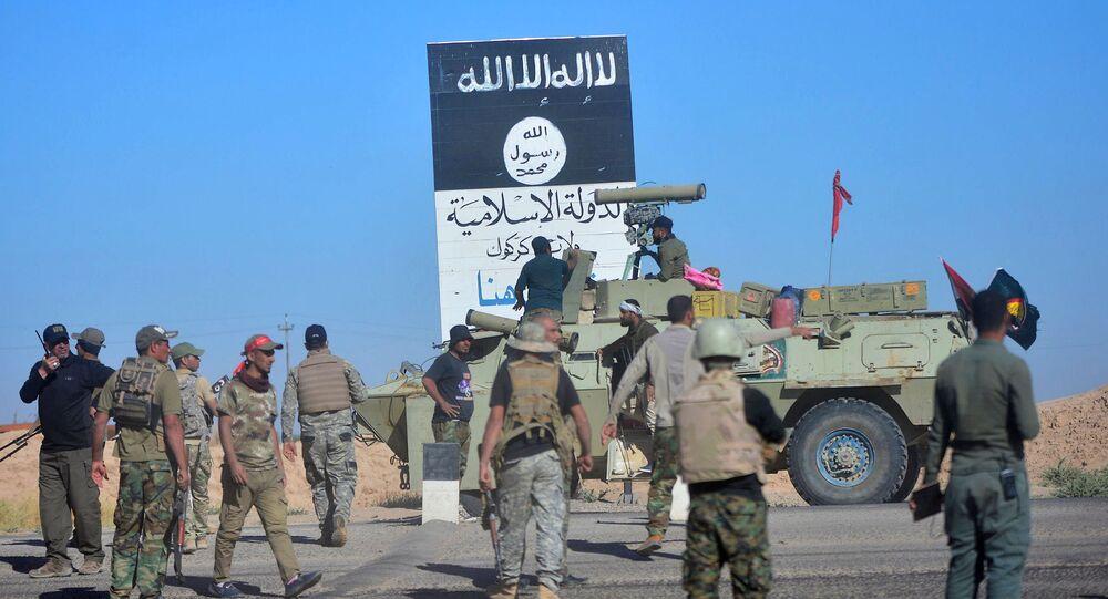 Havice'de Haşdi Şabi milisleri ile Irak askerleri