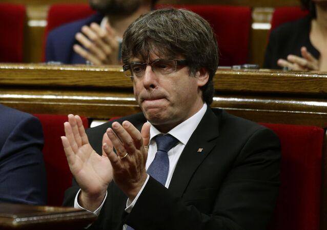 Katalan lider Carles Puigdemont