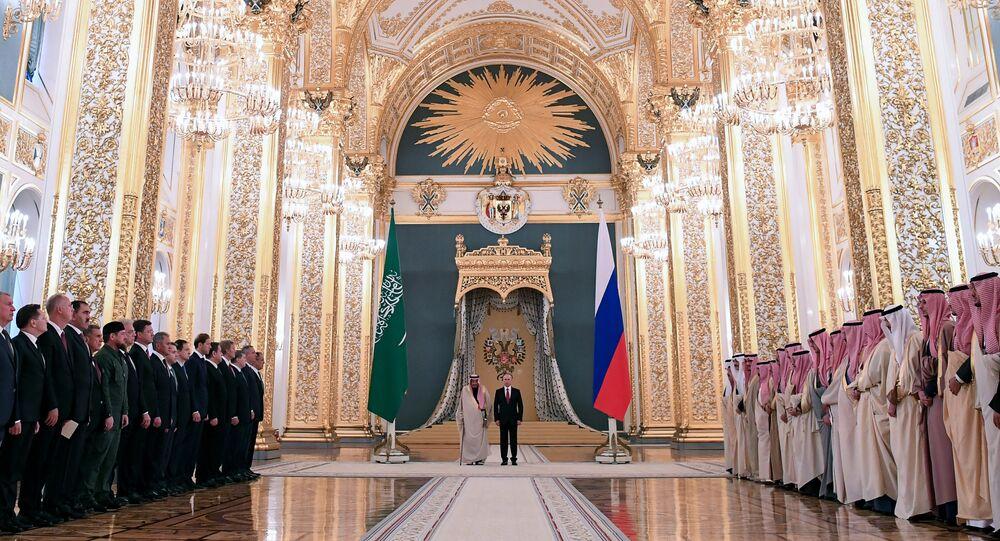 Rusya Devlet Başkanı Vladimir Putin- Suudi Arabistan Kralı Selman bin Abdülaziz