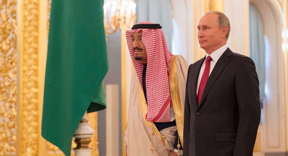 Rusya Devlet Başkanı Vladimir Putin ve Suudi Kral Selman