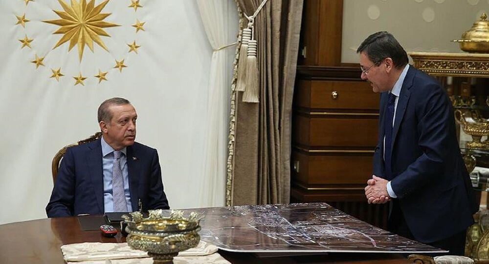 Cumhurbaşkanı Recep Tayyip Erdoğan ve Melih Gökçek