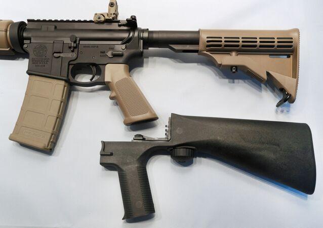 ABD'de yarı otomatik silahların tam otomatik silahlara dönüştürülmesine yarayan aparatlar tartışma yaratıyor