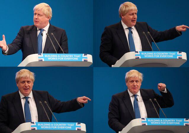 İngiltere Dışişleri Bakanı Boris Johnson