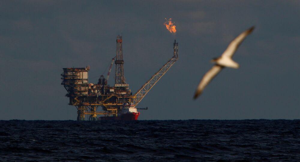 Libya- Petrol platformu