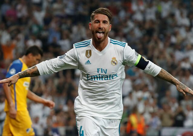 Real Madrid kaptanı Sergio Ramos