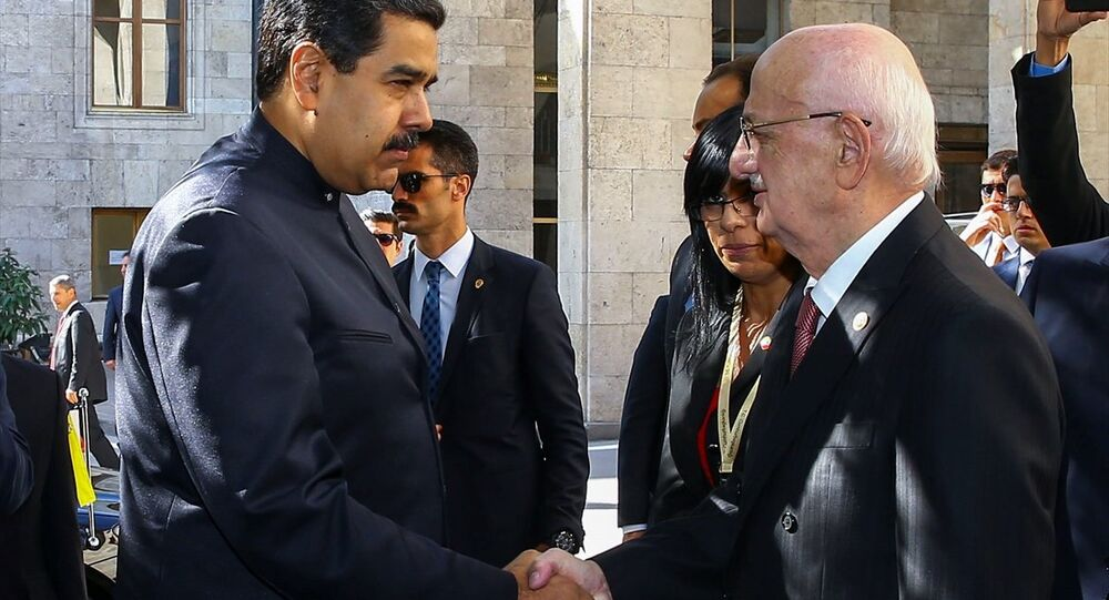 Venezüella Devlet Başkanı Nicolas Maduro-TBMM Başkanı İsmail Kahraman