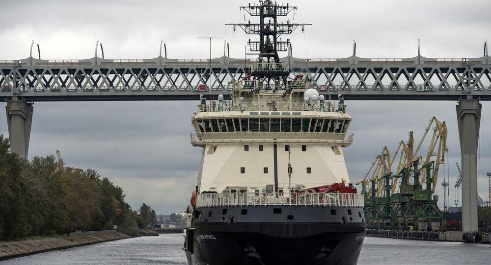Yeni nesil buzkıran gemisi İlya Muromets