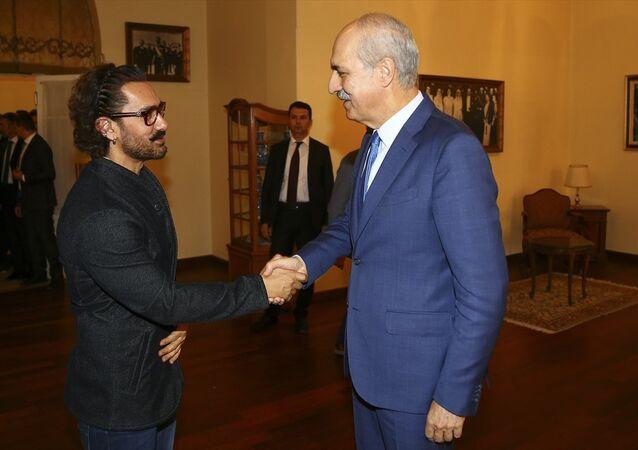 Numan Kurtulmuş ve Aamir Khan
