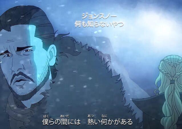 Game of Thrones'un anime versiyonu