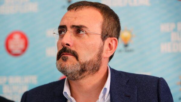 AK Parti Sözcüsü Mahir Ünal - Sputnik Türkiye