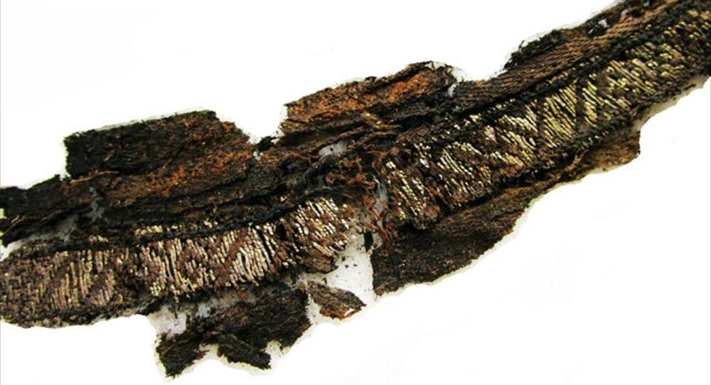 Viking mezarlarında üzerinde 'Allah' ve 'Ali' yazan kumaşlar bulundu