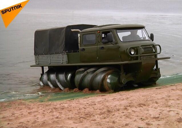 Rusya, yeni arazi aracının üretimine başladı