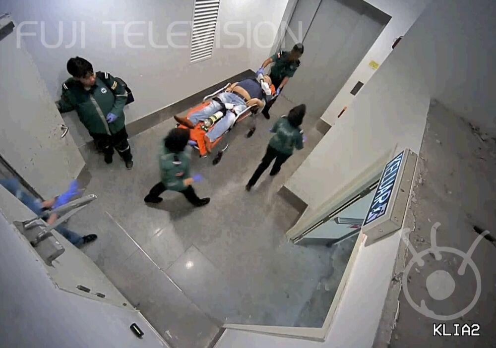 Associated Press (AP) bu görüntülerin Kim Jong-nam'ın son anları olabileceği yorumunu yaptı. Kim Jong-nam, 13 Şubat'ta Macau'ya gitmek üzereyken yanına gelen iki kadın tarafından yüzüne VX sinir gazı olan bir bezle bastırılması sonucu yaklaşık 20 dakika içinde havalimanından hastaneye ambulansla götürülürken hayatını kaybetmişti.