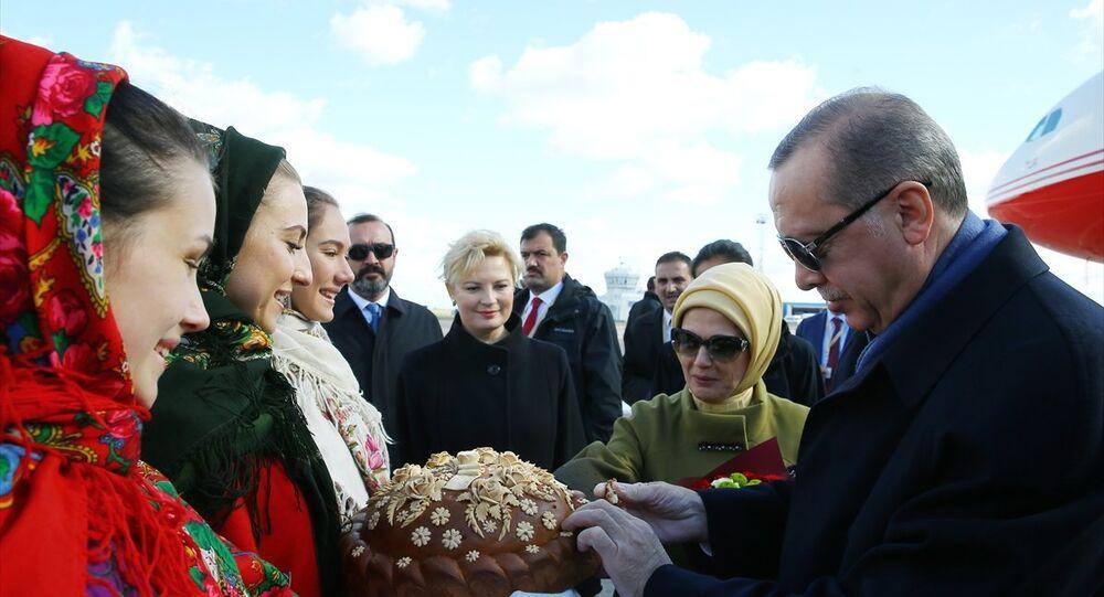 Erdoğan, Ukrayna'da
