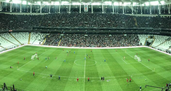 Türkiye Milli Ampute Futbol Takımı ile İngiltere'nin maçı