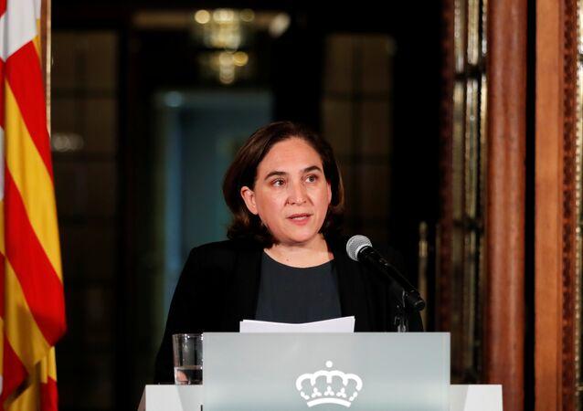 Barcelona Belediye Başkanı Ada Colau