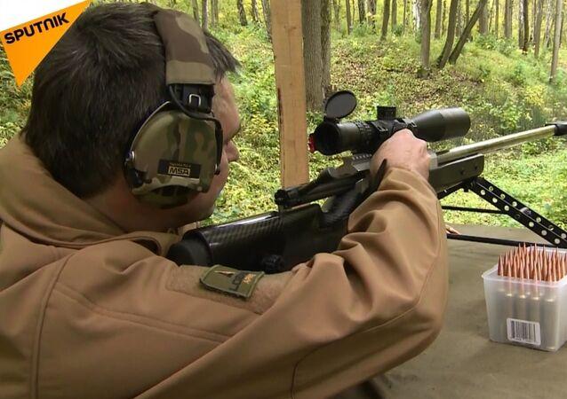 Yeni Rus keskin nişancı tüfeği rekora imza attı