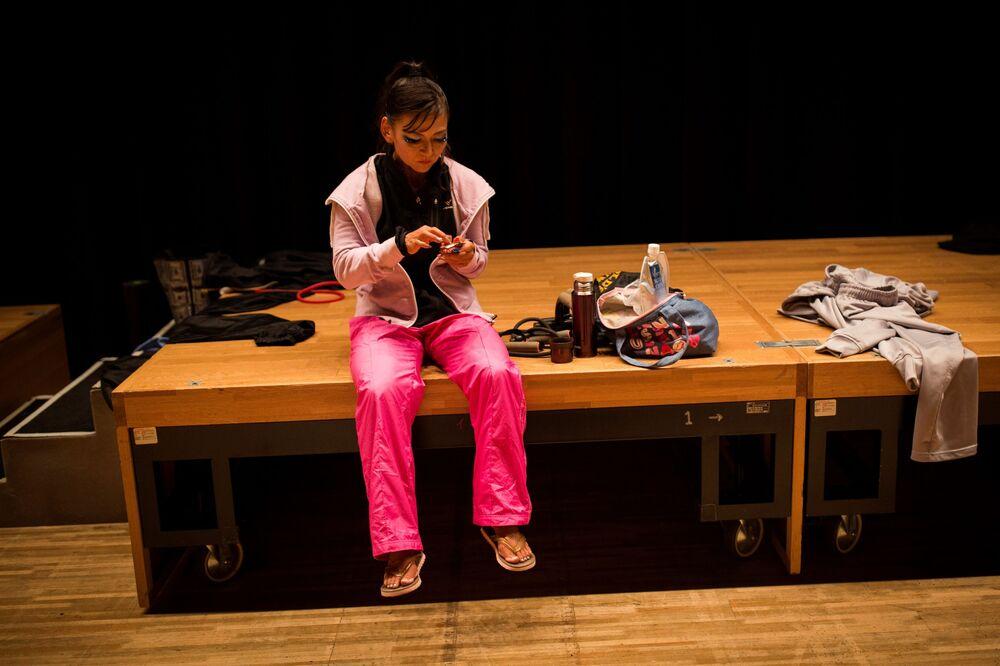 Japonya'da vücut geliştirme yarışması