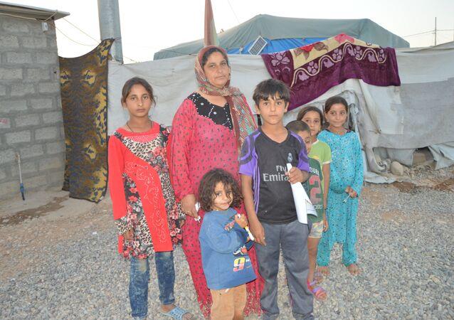 Irak'taki mülteciler: Artık savaş olmasın