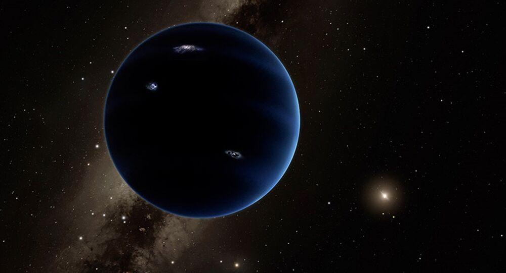 Var olduğu düşünülen 9. Gezegen'in çizimi