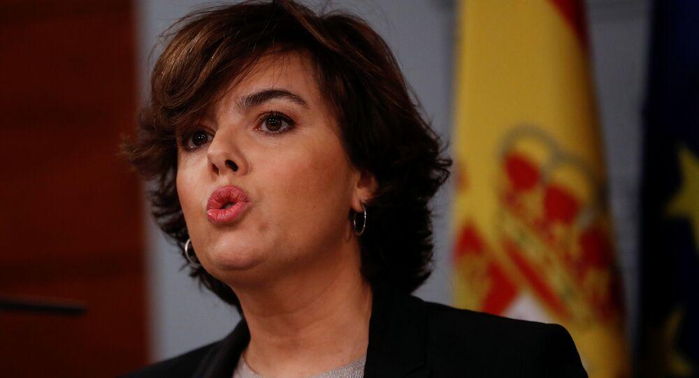 İspanya Başbakan Yardımcısı Soraya Sáenz de Santamaria