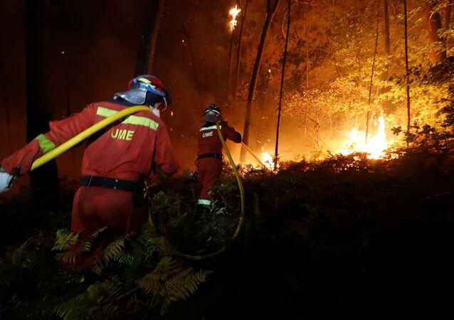 Portekiz-orman-yangını