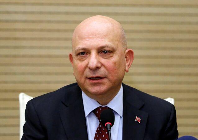 Ankara Üniversitesi Rektörü Prof. Dr. Erkan İbiş