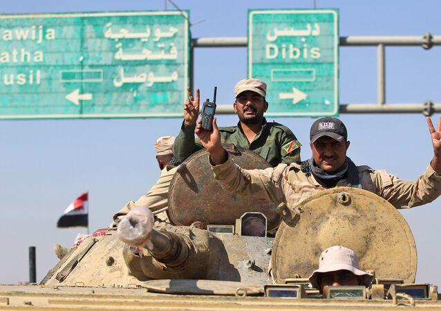 Irak güçleri-Kerkük