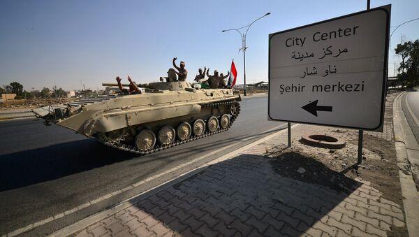 Irak güçleri, Kerkük'te - Sputnik Türkiye