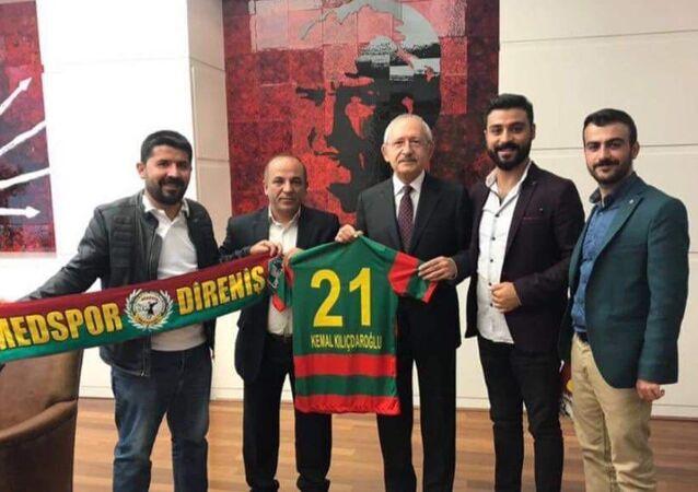 Amedspor taraftar grubundan Kılıçdaroğlu'na ziyaret