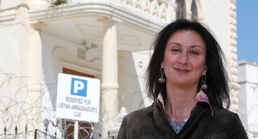 Maltalı gazeteci Daphne Caruana Galizia