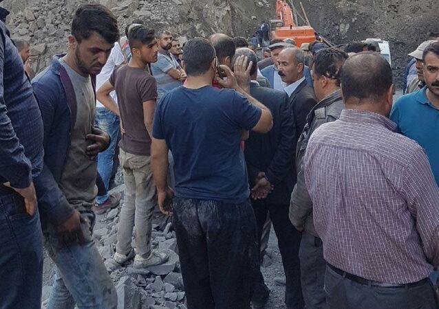 Şırnak'ta maden göçüğü