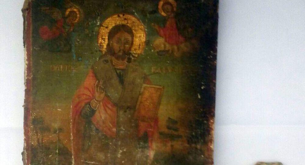 Beyoğlu'nda Tarihi Eser Operasyonu