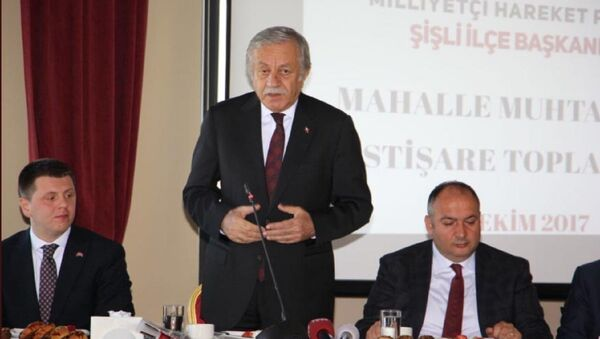 MHP Genel Başkan Yardımcısı Celal Adan - Sputnik Türkiye