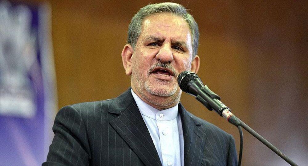 İran Cumhurbaşkanı 1. Yardımcısı İshak Cihangiri