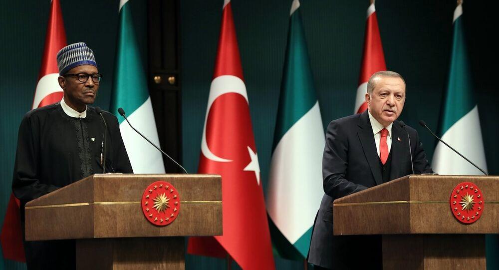 Cumhurbaşkanı Recep Tayyip Erdoğan ve Nijerya Cumhurbaşkanı Muhammadu Buhari