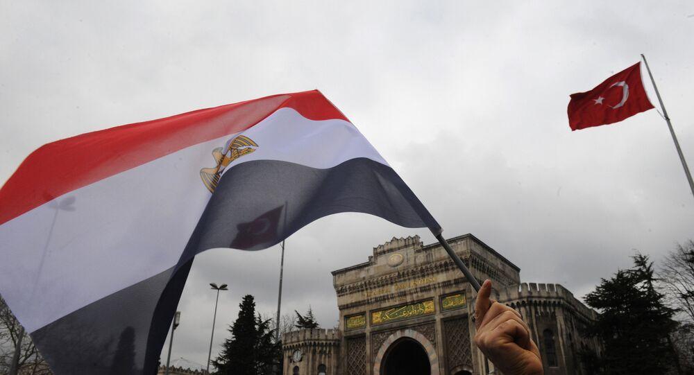 Mısır-Türkiye bayrakları