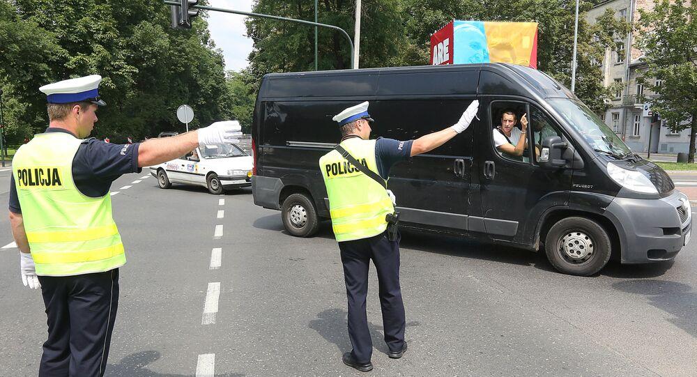 Polonya polis (Arşiv)