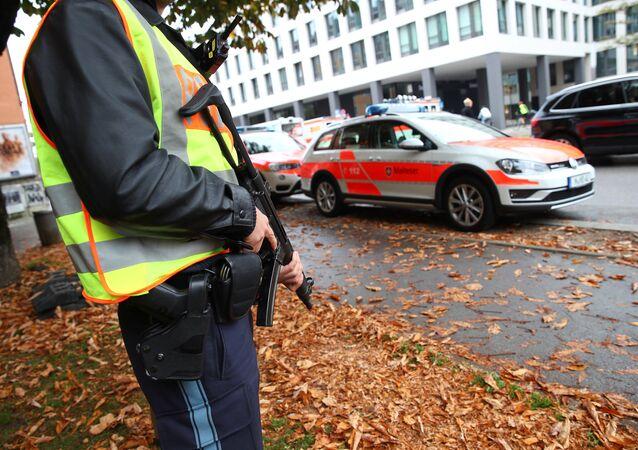Almanya- Münih- Polis