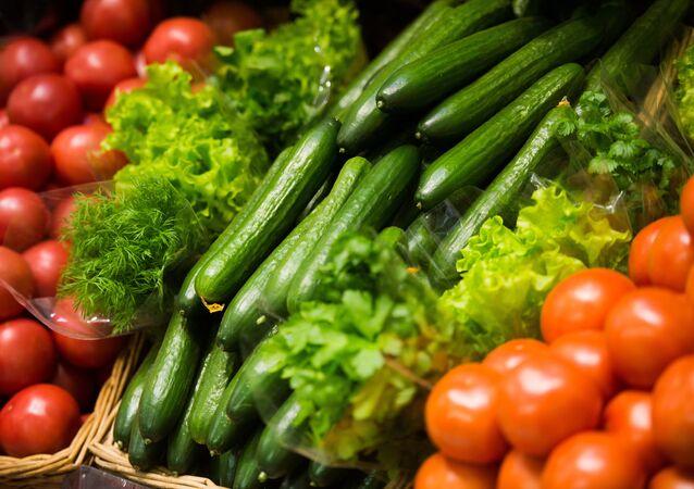 Domates- Salatalık- Sebze
