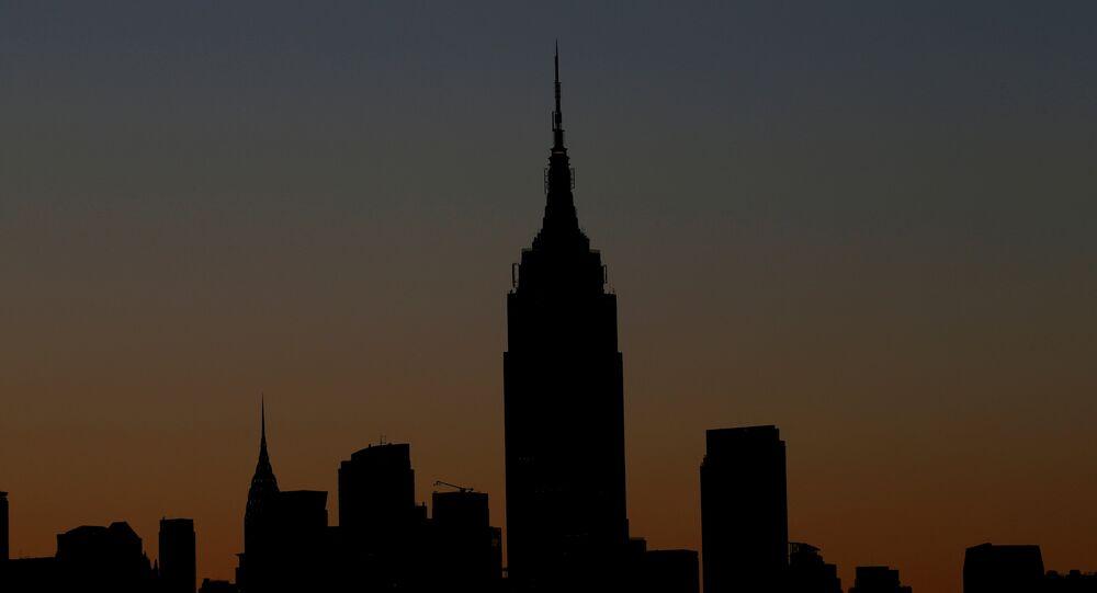 ABD'nin New York kentindeki Empire State binası