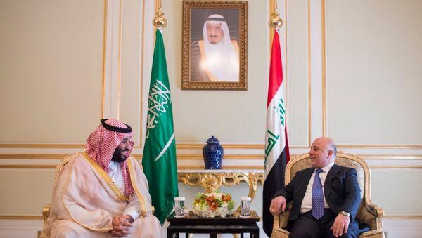 Irak Başbakanı Haydar el İbadi - Suudi Arabistan Veliaht Prensi Muhammed bin Selman - Sputnik Türkiye
