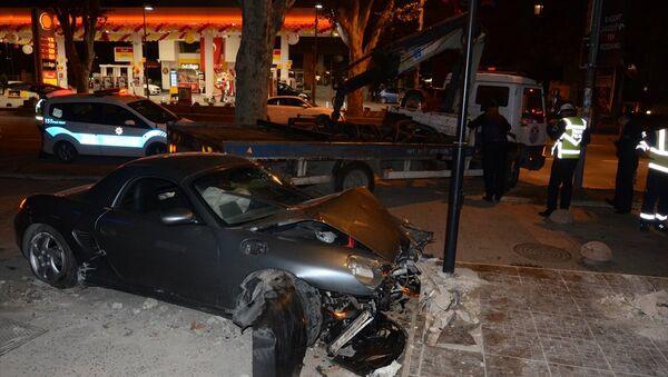 Bağdat Caddesi'nde kaza - Sputnik Türkiye