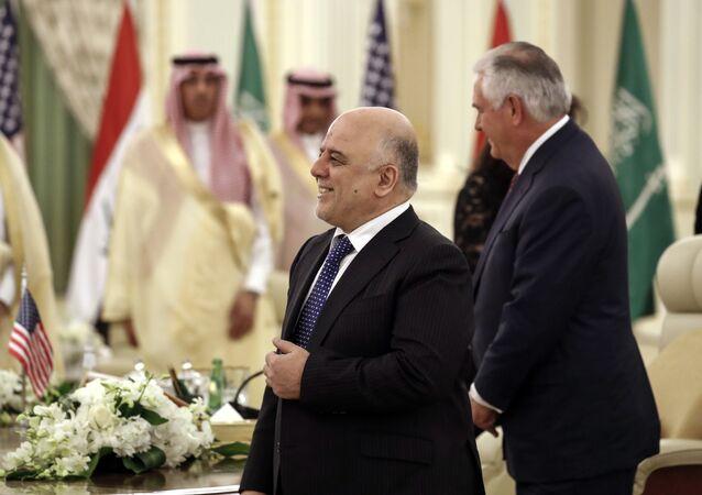 ABD Dışişleri Bakanı Rex Tillerson- Irak Başbakanı Haydar el İbadi