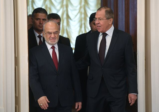 Rusya Dışişleri Bakanı Sergey Lavrov - Irak Dışişleri Bakanı İbrahim Caferi