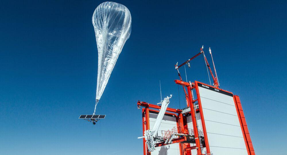Project Loon - internet balonu