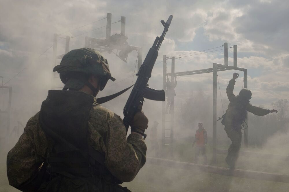 Rusya'da Özel Kuvvetler Günü kutlanıyor
